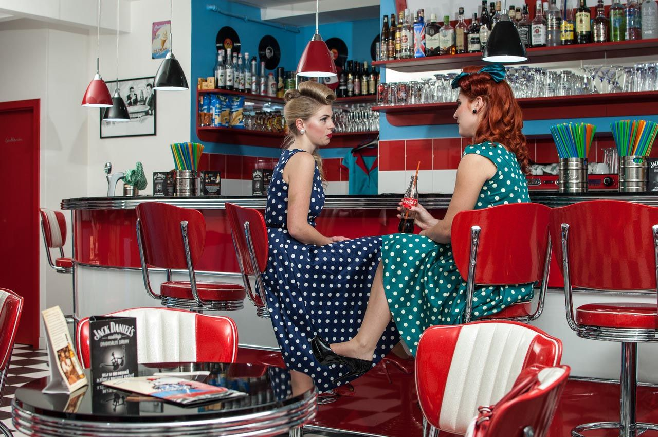 American 50s Retro Diner Furniture Diner Chairs Booths