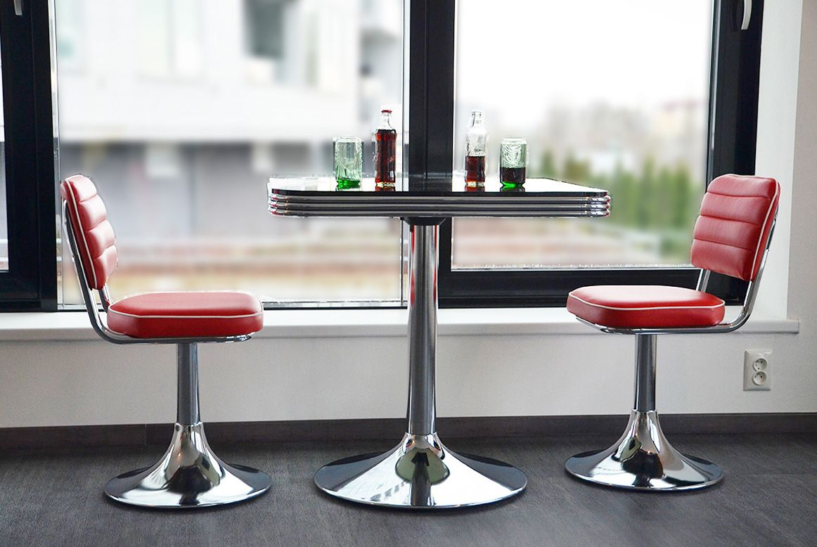 american 50s retro diner furniture diner chairs booths. Black Bedroom Furniture Sets. Home Design Ideas