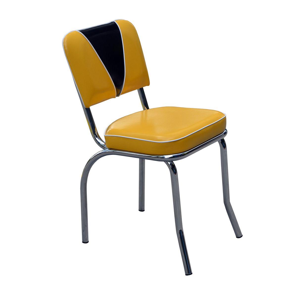 Vintage diner chair novio s334 9b american 50s diner chair for American diner chairs