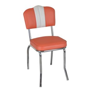 diner retro chair with peak top