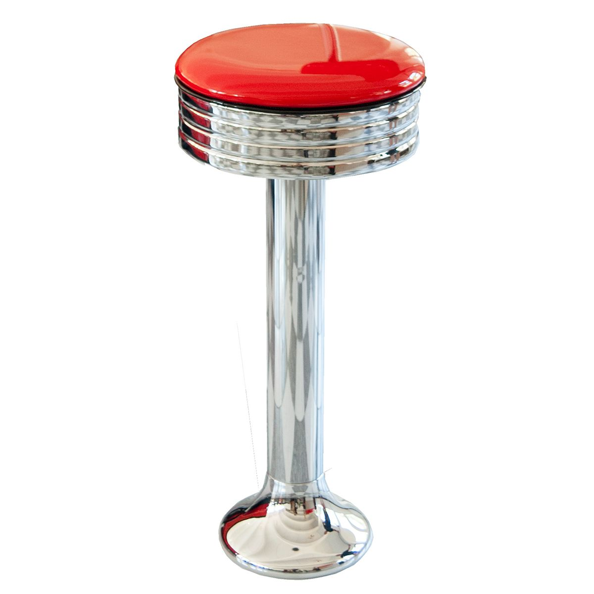 Floor Mounted Diner Bar Stool American Diner Bar Stool
