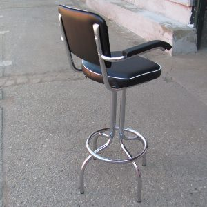 diner bar stool with arms
